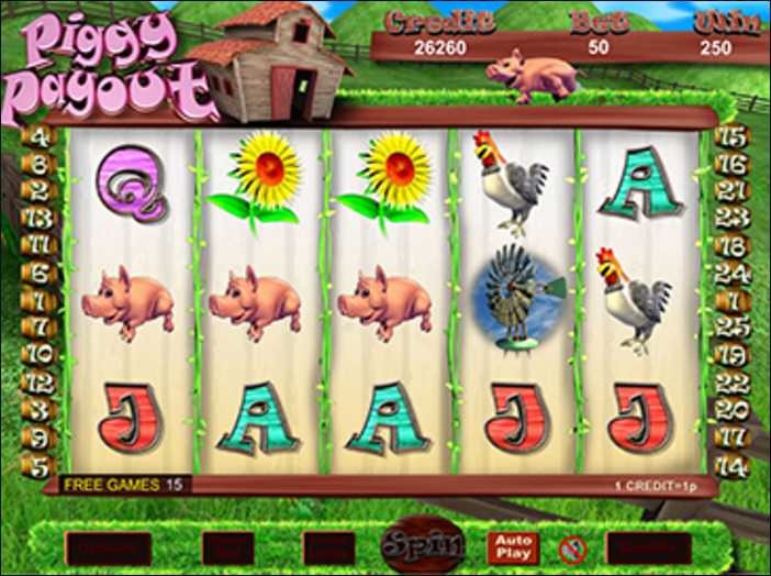 Piggy Payout slots gameplay