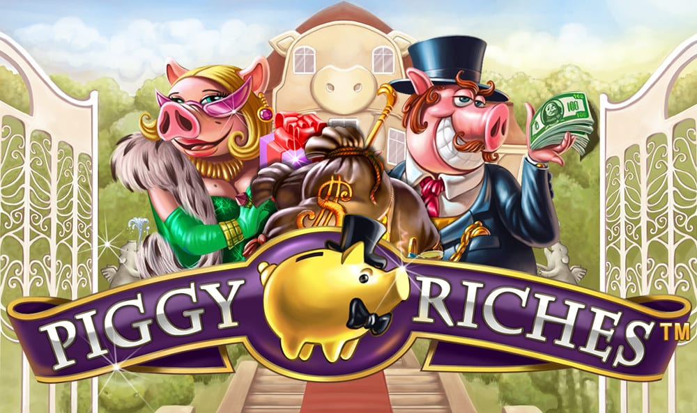 Piggy Riches Online slots game logo