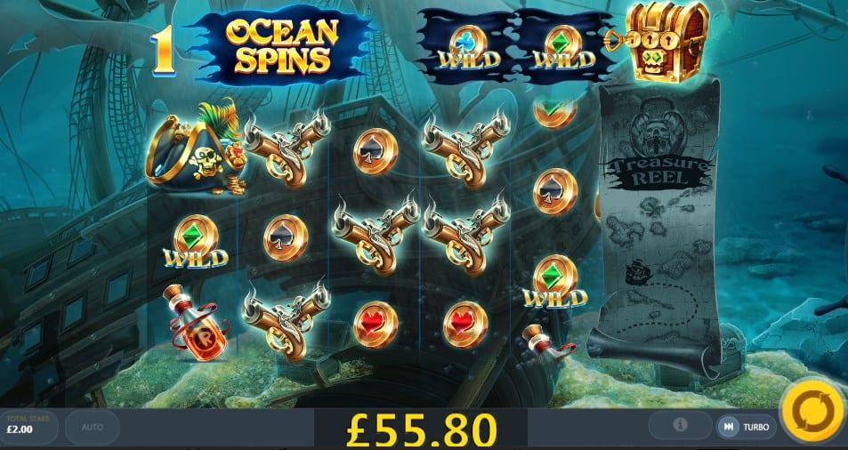 Pirates' Plenty The Sunken Slots Wizard Slots