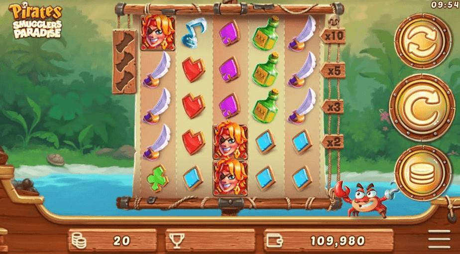 Pirates Smugglers Paradise Slot Game