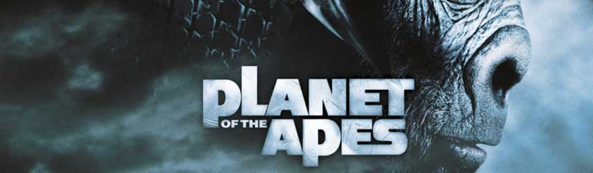 Planet of the Apes online slots game logo