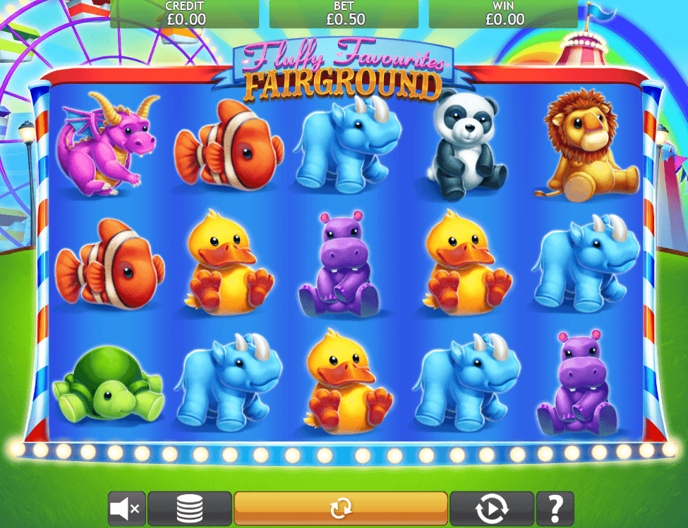 Fluffy Favourites Fairground Slots Game