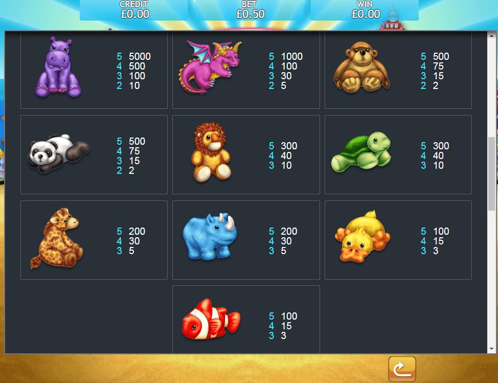 Fluffy Too Slots Game