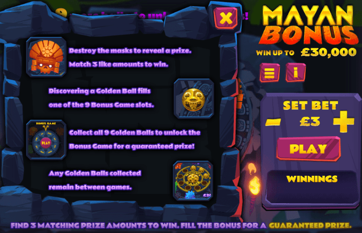 Mayan Bonus Slot Online