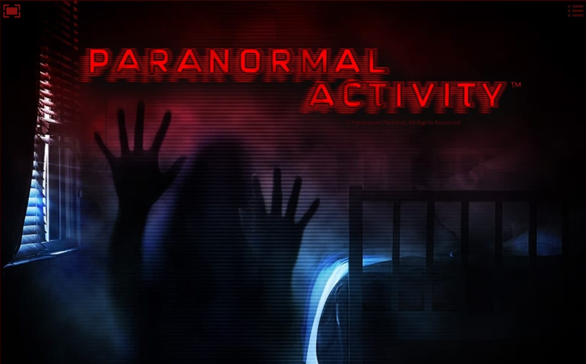 Paranormal Activity online slots game logo