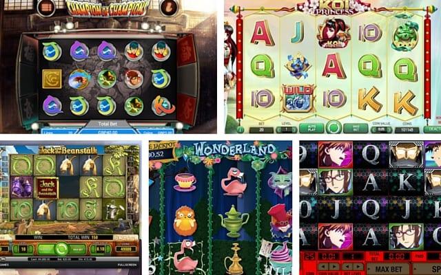 Slot Game Themes Image