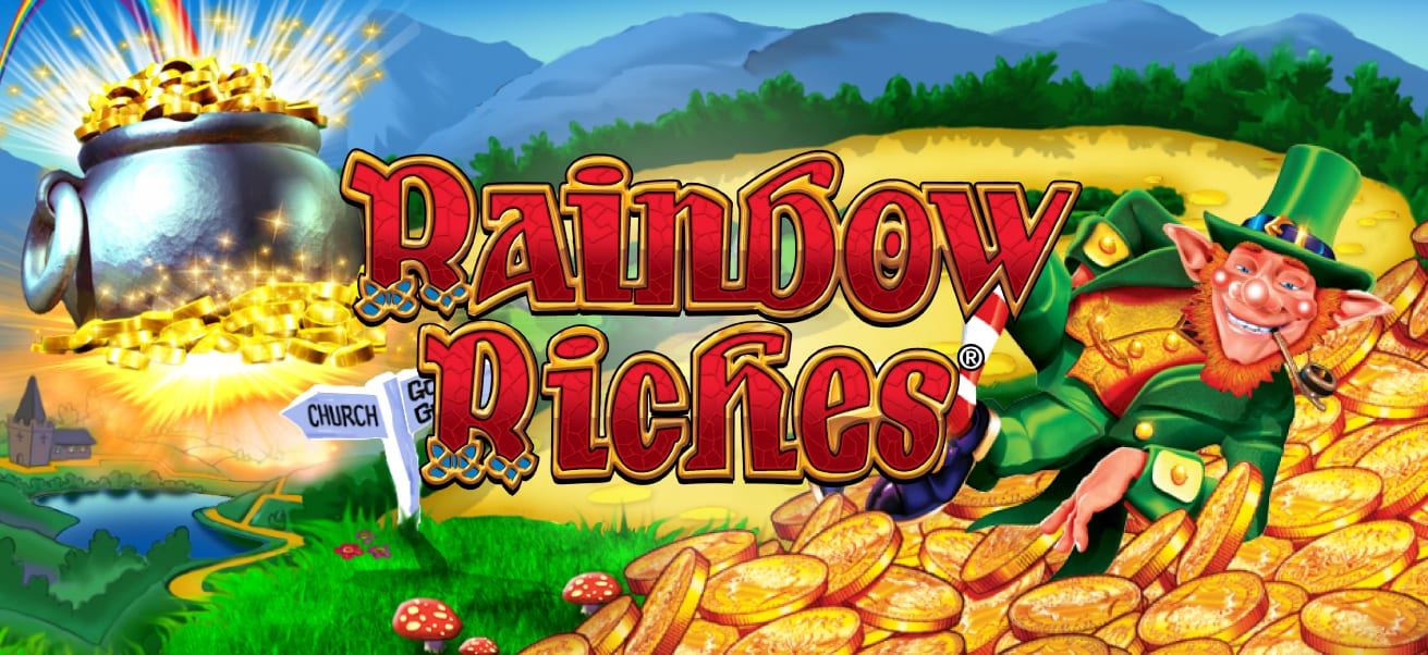 rainbow riches slots game logo