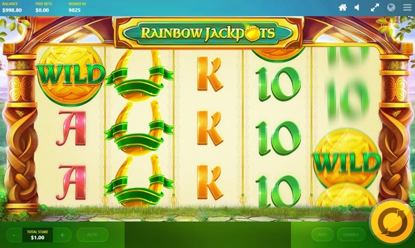 Rainbow Jackpots Casino Games