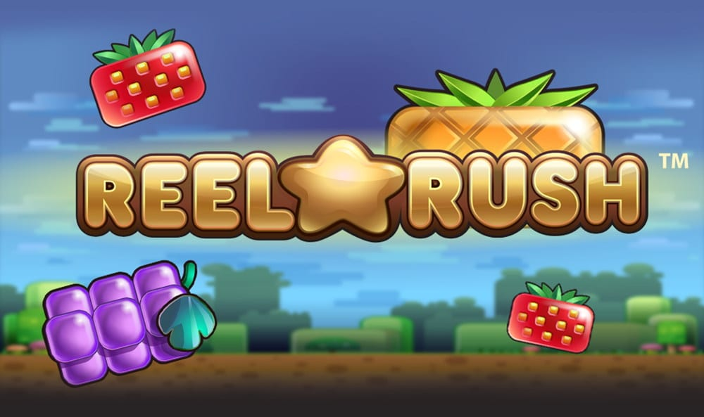 Reel Rush online slots game logo