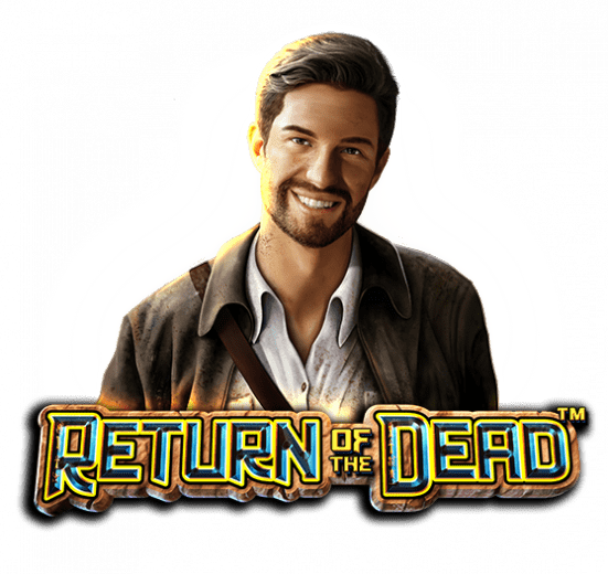 Return of the Dead Slot Logo Wizard Slots