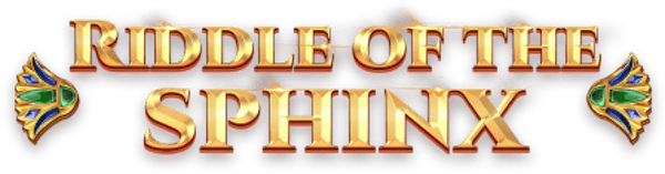 Riddle of the Sphinx Slot Logo Wizard Slots