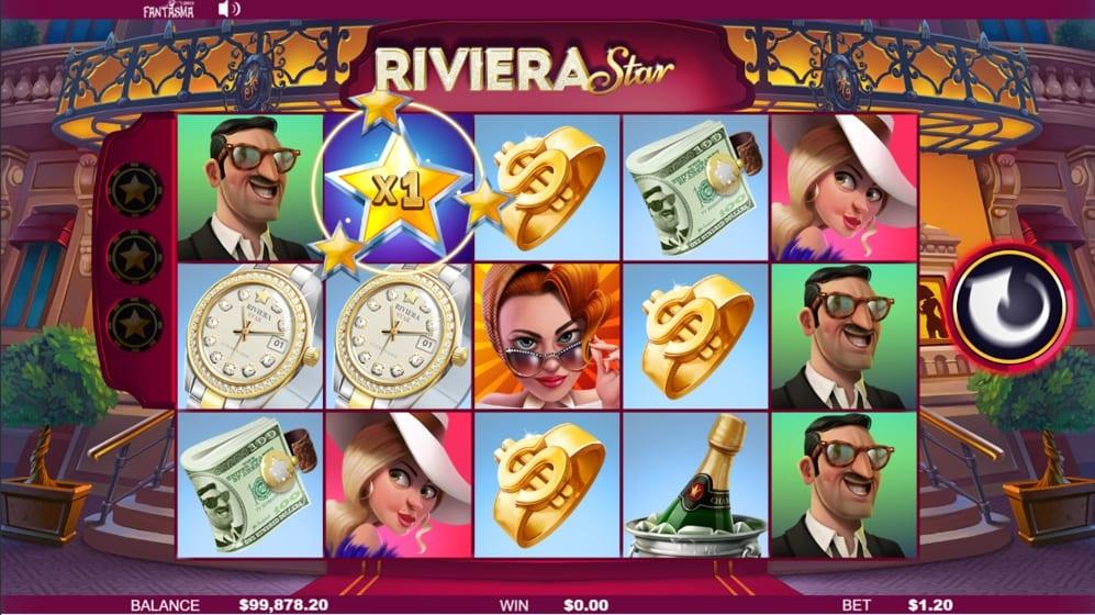 Riviera Star Online Free Slots