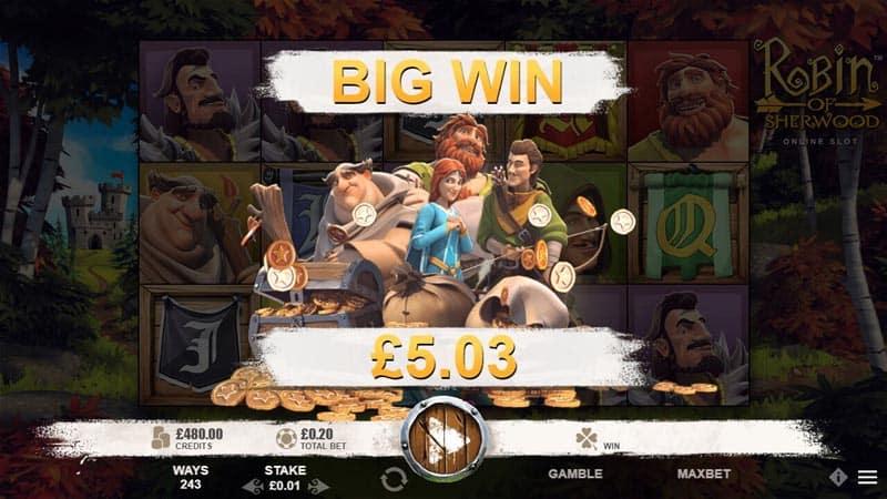 Robin Hood Big Win slots