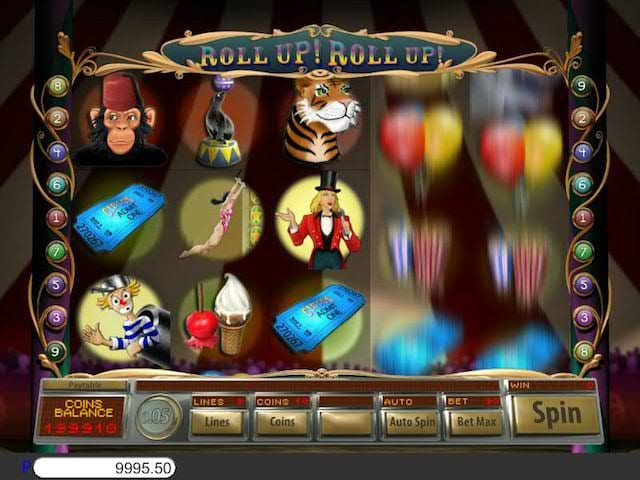 Roll Up! Roll Up! Slot Gameplay