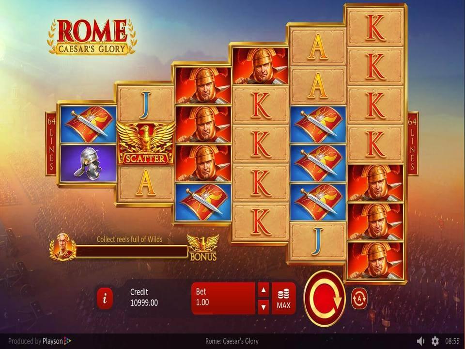 Rome: Caesar's Glory Casino Slot