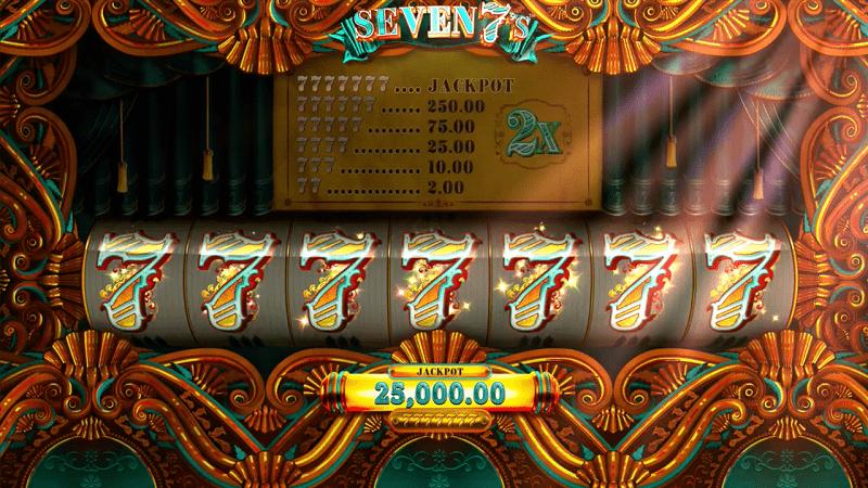 Seven 7s Online Casino Game