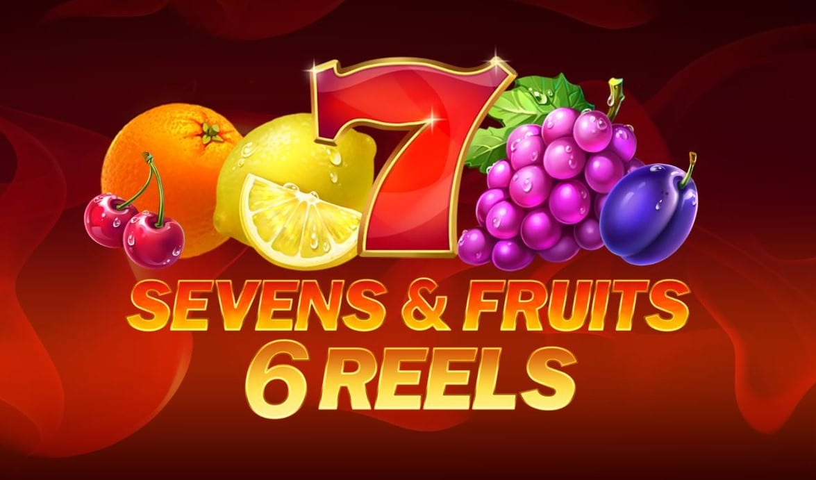 Sevens & Fruits 6 Reels Slot Logo Wizard Slots