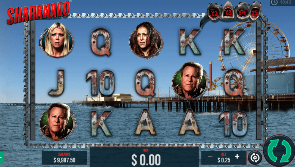 Sharknado Slots gameplay