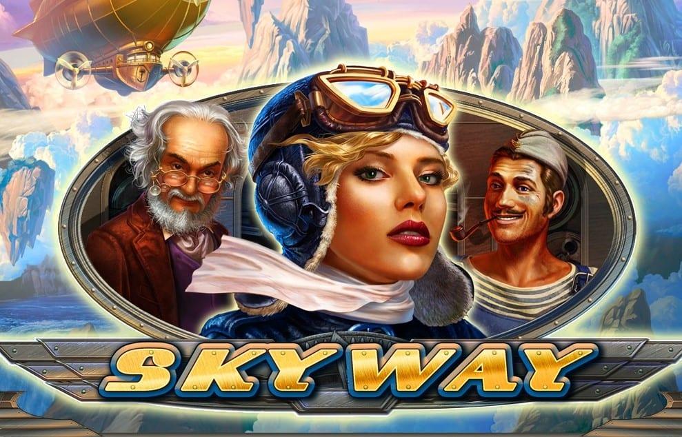 Skyway online slots game logo