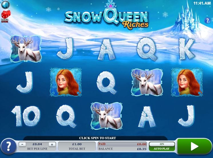Snow Queen Riches Logo