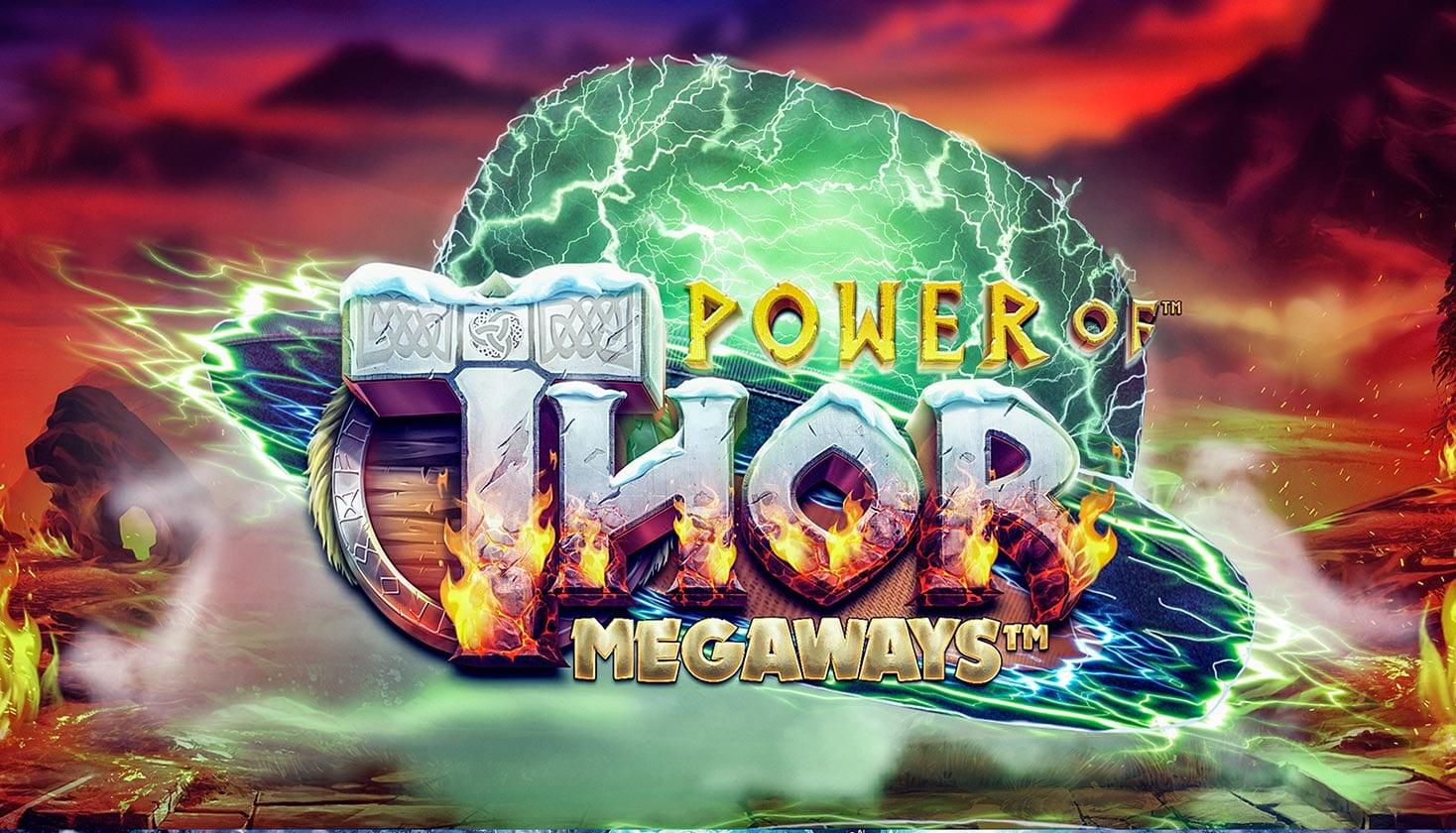 Power of Thor Megaways Slot Logo Wizard Slots