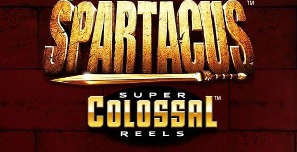 Spartacus Super Colossal Reels Slot Logo Wizard Slots