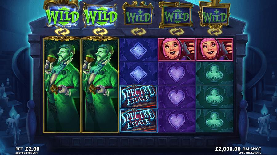 Spectre Estate Slot Game