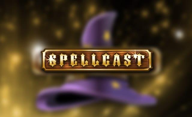 Spellcast online slots logo