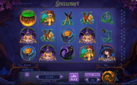 Spellcraft Gameplay