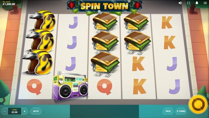Spin Town slots Game