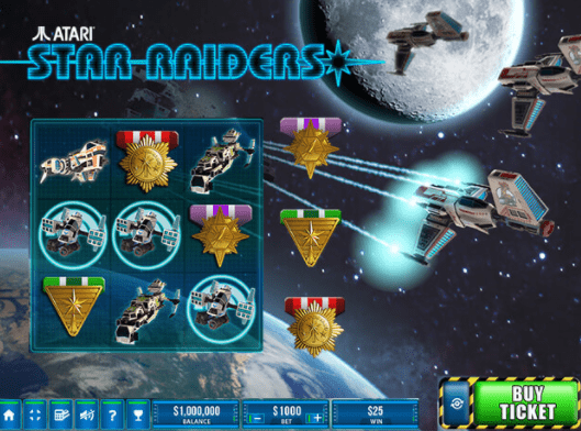 Star Raiders Scratch Gameplay