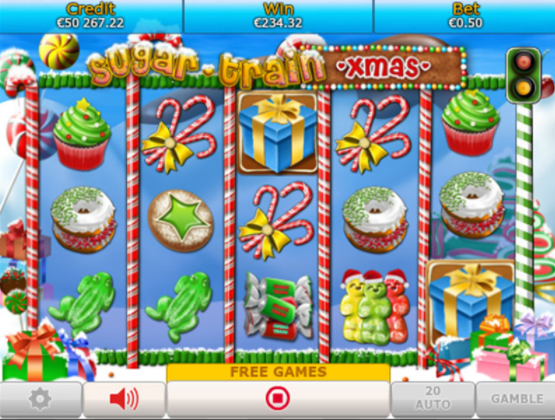Sugar Train Xmas gameplay