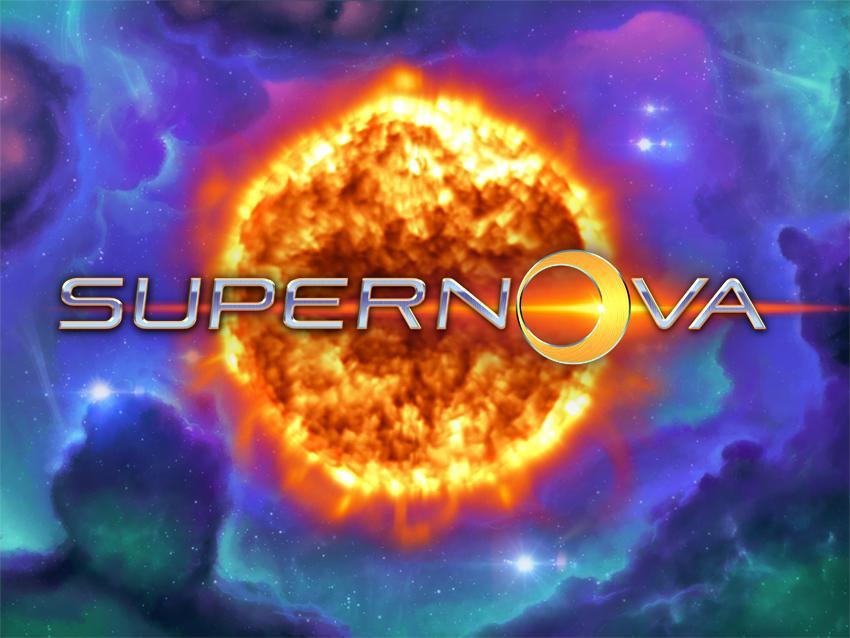 Super Nova online slots game logo