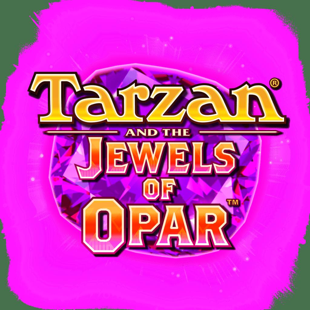 Tarzan and the Jewels of Opar Slot Logo Wizard Slots