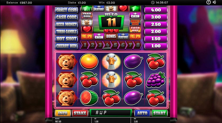 Ted Pub Fruits Series Slot Game