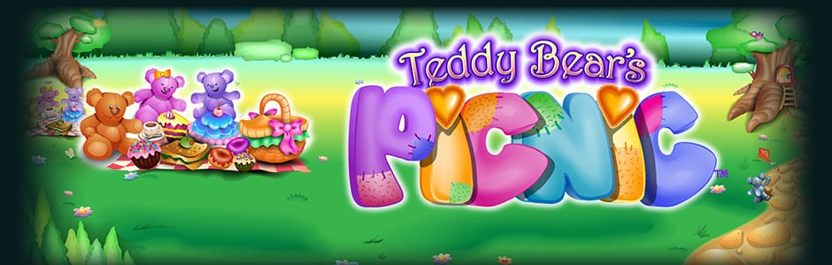 Teddy Bears Picnic online slots game logo