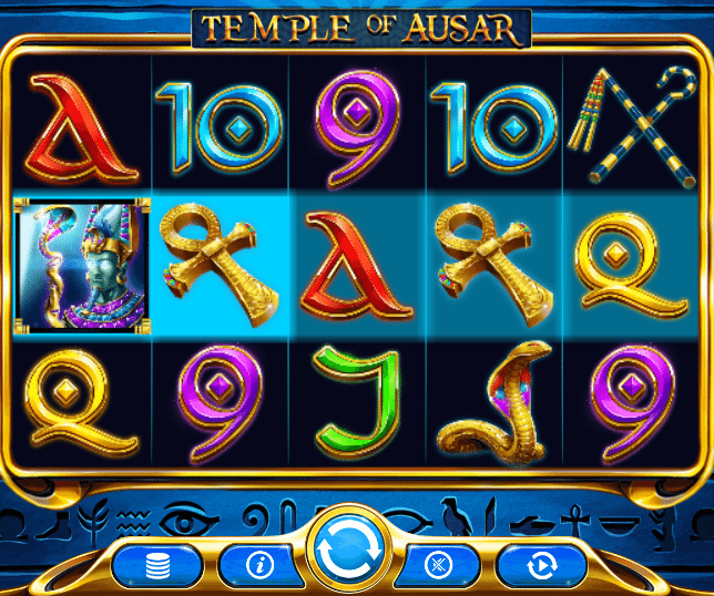 Temple of Ausar Jackpot Gameplay 2
