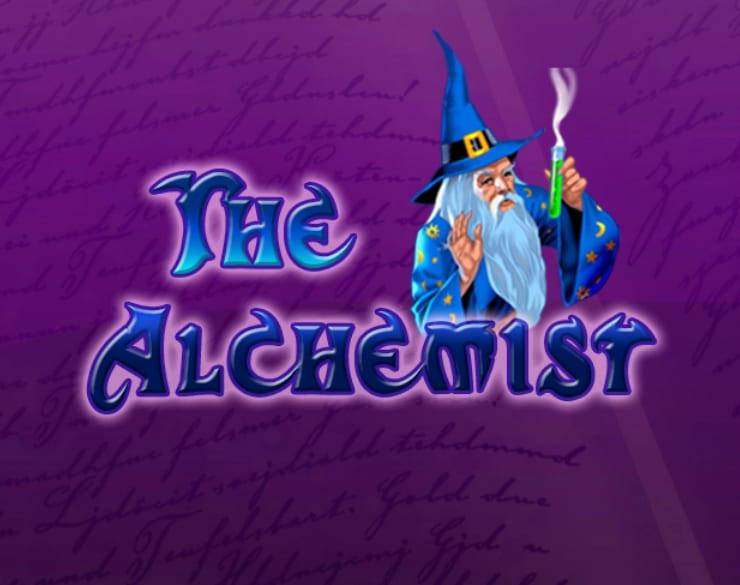 Alchemist Slots game logo