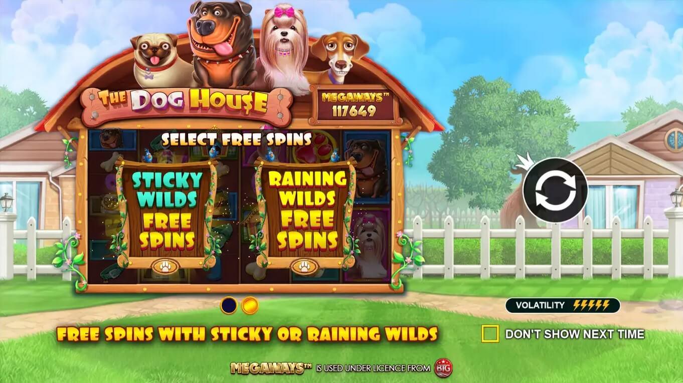 The Dog House Slot Bonus