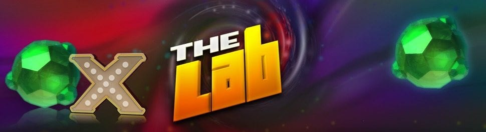 The Lab online slots game logo