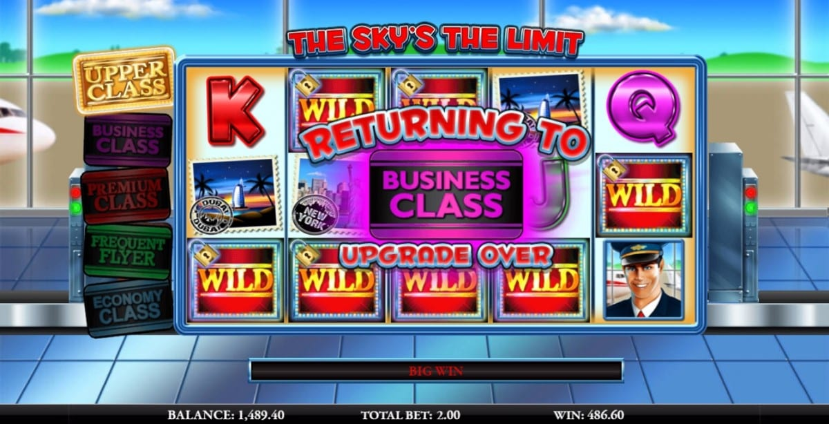 The Sky's The Limit Slot Wizard Slots