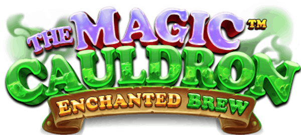 Magic Cauldron Enchanted Brew Slot Logo Wizard Slots