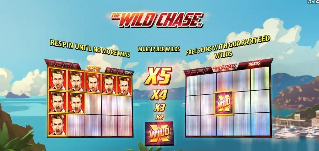 the wild chase bonus