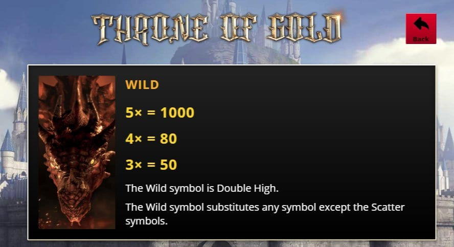 Throne of Gold Slots Wilds