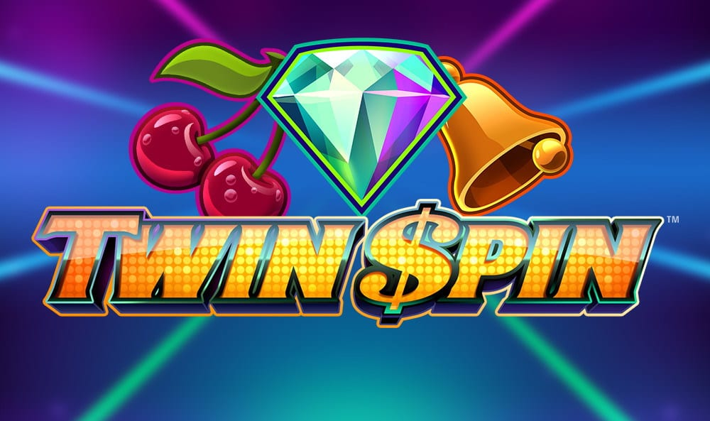 Twin Spin logo for slot game