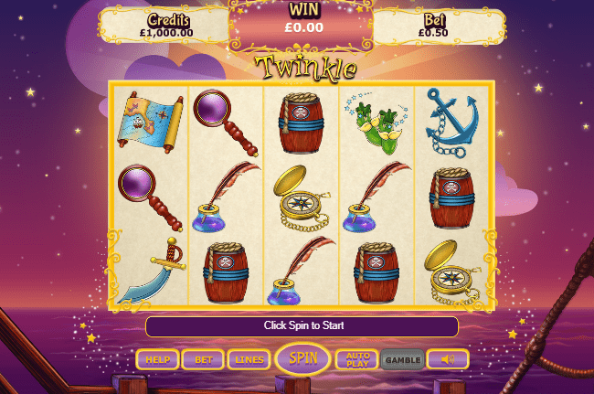 Twinkle slots gameplay