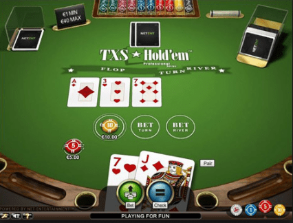 Txs Holdem Pro table layout