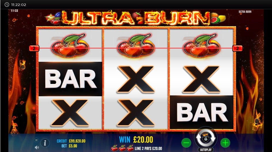 Ultra Burn Slot Game