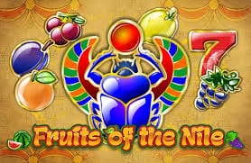 Fruits of the Nile online slots game logo