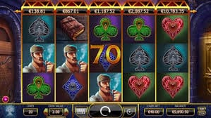 Holmes and the Stolen Stones slots game gameplay